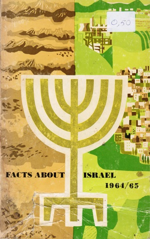 Titelblad van Facts about Israel 1964-65