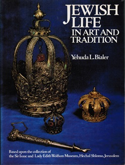 Titelblad van Jewish Life in art and tradition